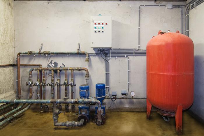 technische ruimte tbv drinkwaternetwerk